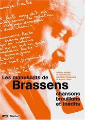Couverture Les manuscrits de Brassens