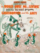 Affiche La cigale et la fourmi