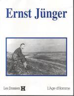 Couverture Dossier H : Ernst Jünger