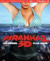 Affiche Piranha 2 3D