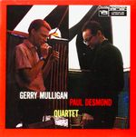 Pochette Gerry Mulligan Paul Desmond Quartet