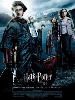Affiche Harry Potter et la Coupe de feu