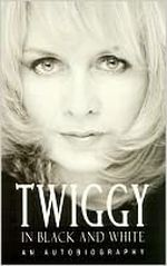 Couverture Twiggy in black and white