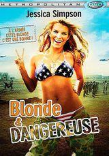 Affiche Blonde et dangereuse