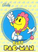 Jaquette Baby Pac-Man