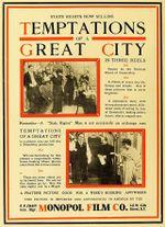Affiche Les Tentations de la grande ville