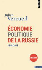 Couverture Economie politique de la Russie