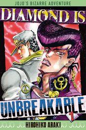 Couverture Diamond is Unbreakable - JoJo's Bizarre Adventure, saga 4