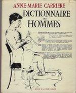 Couverture Dictionnaire des hommes