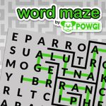 Jaquette Word Maze by POWGI