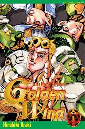 Couverture Golden Wind - JoJo's Bizarre Adventure, saga 5