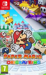 Jaquette Paper Mario : The Origami King