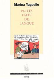 Couverture Petits faits de langue
