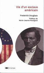 Couverture Vie d'un esclave américain
