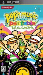 Jaquette Pop'n Music Portable