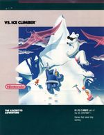 Jaquette Vs. Ice Climber