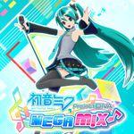 Jaquette Hatsune Miku: Project DIVA Mega Mix