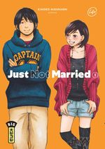 Couverture Just Not Married, tome 1