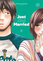 Couverture Just Not Married, tome 2