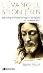 Couverture L'Evangile selon Jésus