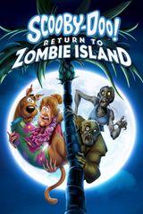 Affiche Scooby-Doo ! Retour sur l'île aux zombies