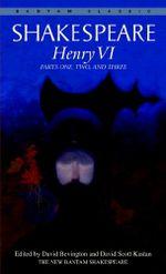 Couverture Henry VI