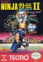 Jaquette Shadow Warriors II (Ninja Gaiden II)