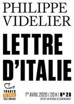 Couverture Lettre d'Italie