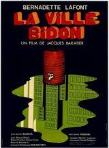 Affiche La Ville bidon