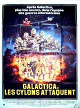 Affiche Galactica : Les Cylons attaquent