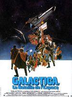 Affiche Galactica : La Bataille de l'espace