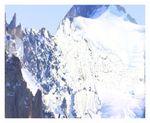 Affiche Avant l'effondrement du Mont Blanc