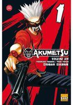 Couverture Akumetsu, Tome 01