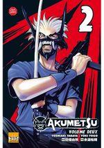Couverture Akumetsu, Tome 02