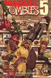 Couverture Opération antidote - Marvel Zombies, tome 7
