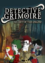 Jaquette Detective Grimoire : Secret of the Swamp