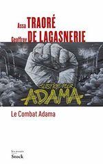 Couverture Le combat Adama