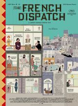 Affiche The French Dispatch
