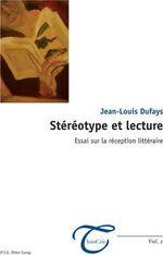 Couverture Stéréotype et lecture