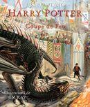 Couverture Harry Potter et la Coupe de Feu (illustré par Jim Kay)