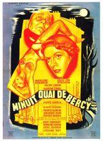 Affiche Minuit, quai de Bercy