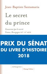 Couverture Le secret du prince