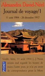 Couverture Journal de voyage / 1