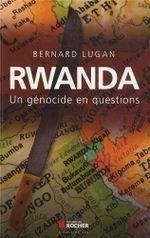 Couverture Rwanda,  contre-enquête sur le génocide