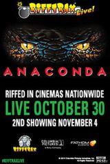 Affiche RiffTrax Live: Anaconda