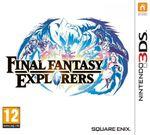 Jaquette Final Fantasy Explorers
