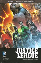 Couverture Justice League : La guerre de Darkseid (1re partie) - DC Comics, Le Meilleur des Super-Héros, tome 119