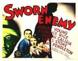Affiche Sworn Enemy