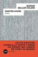 Couverture Wanted Louise
