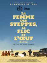 Affiche La Femme des steppes, le flic et l'oeuf